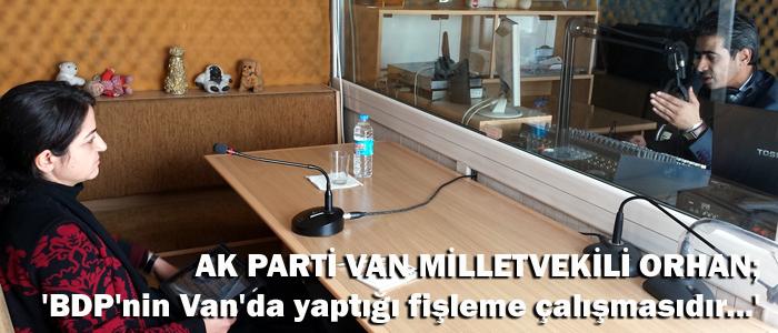 BDP Van'da fişleme çalışması yapıyor