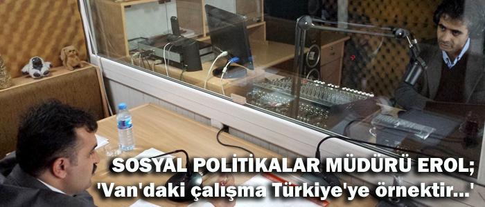 Bu örnek Türkiye'de ilktir