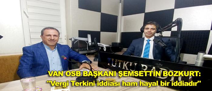 BOZKURT 'VERGİ TERKİNİ HAM HAYAL BİR İDDİADIR'