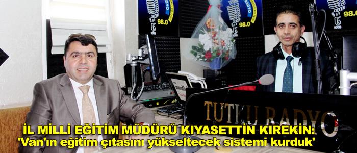 KIREKİN 'VAN'DA ALINAN KARAR TÜRKİYE'DE UYGULANMAYA BAŞLANDI'