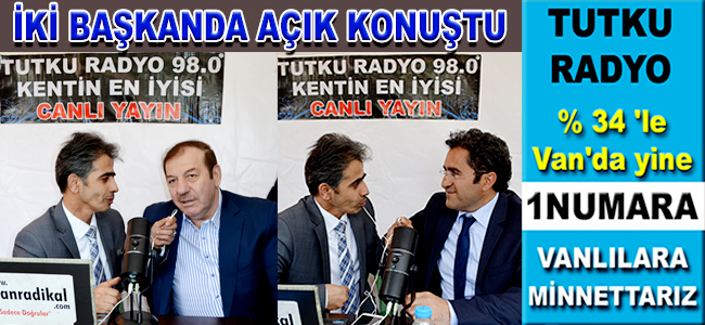 TUTKU RADYO TEMEL ATMA TÖRENİ ALANINDAYDI